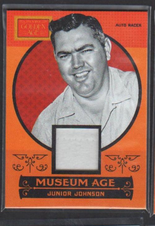 2014 Panini Golden Age Museum Age Memorabilia #23 Junior Johnson