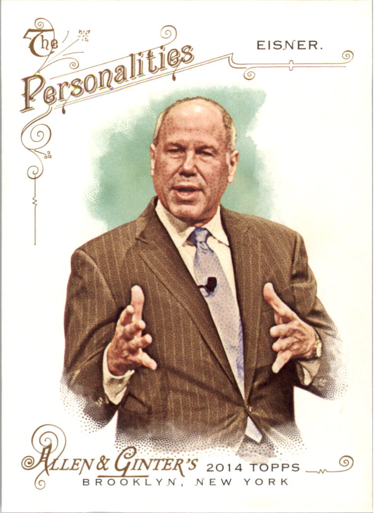 2014 Topps Allen and Ginter #22 Michael Eisner