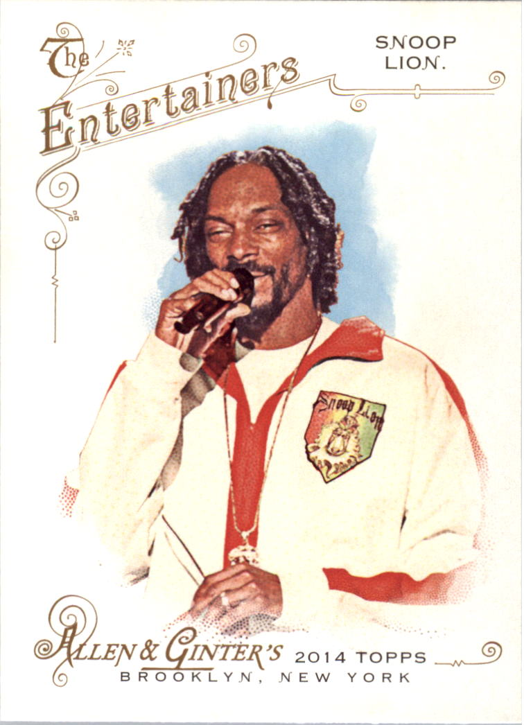 2014 Topps Allen and Ginter #23 Snoop Lion