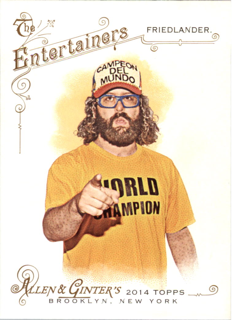 2014 Topps Allen and Ginter #30 Judah Friedlander