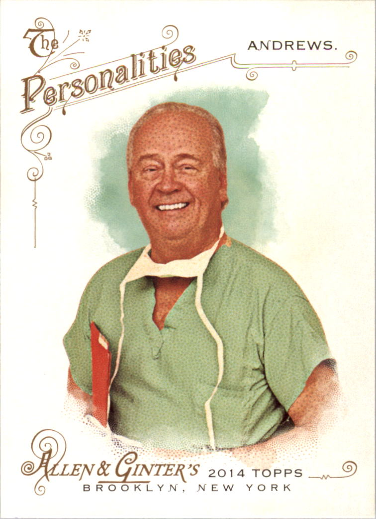 2014 Topps Allen and Ginter #70 Dr. James Andrews