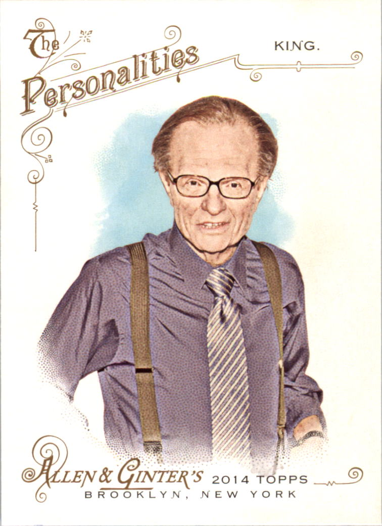 2014 Topps Allen and Ginter #81 Larry King