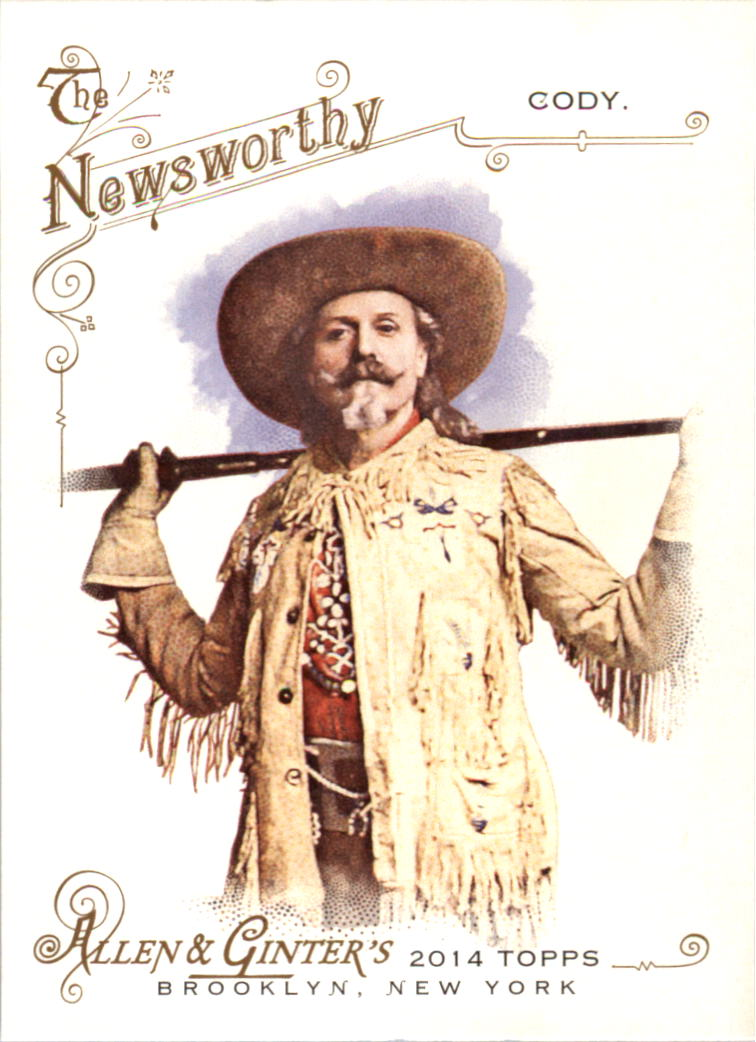 2014 Topps Allen and Ginter #88 Buffalo Bill Cody
