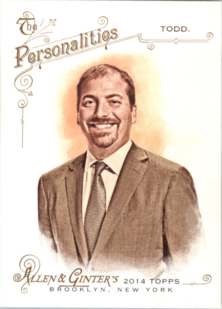 2014 Topps Allen and Ginter #89 Chuck Todd
