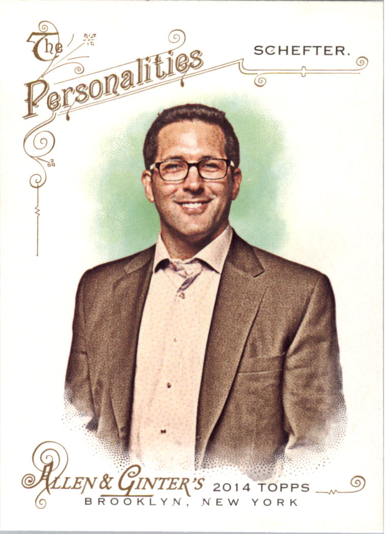 2014 Topps Allen and Ginter #118 Adam Schefter