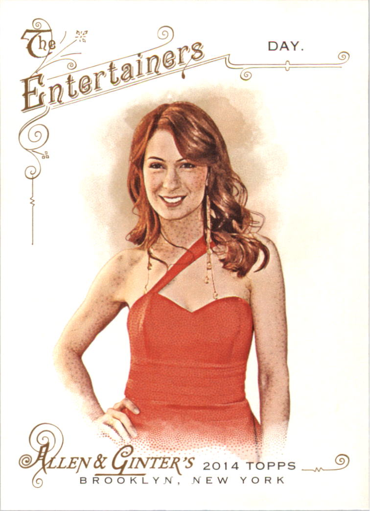 2014 Topps Allen and Ginter #119 Felicia Day