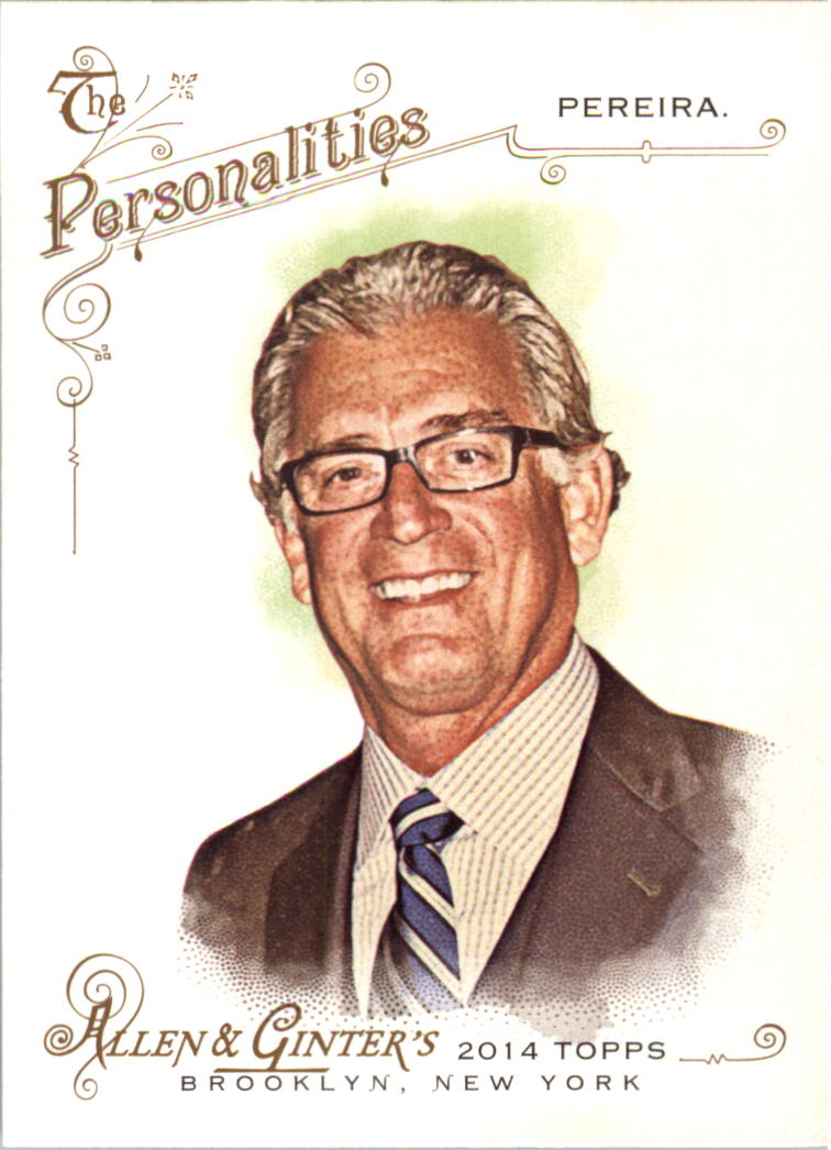 2014 Topps Allen and Ginter #262 Mike Pereira