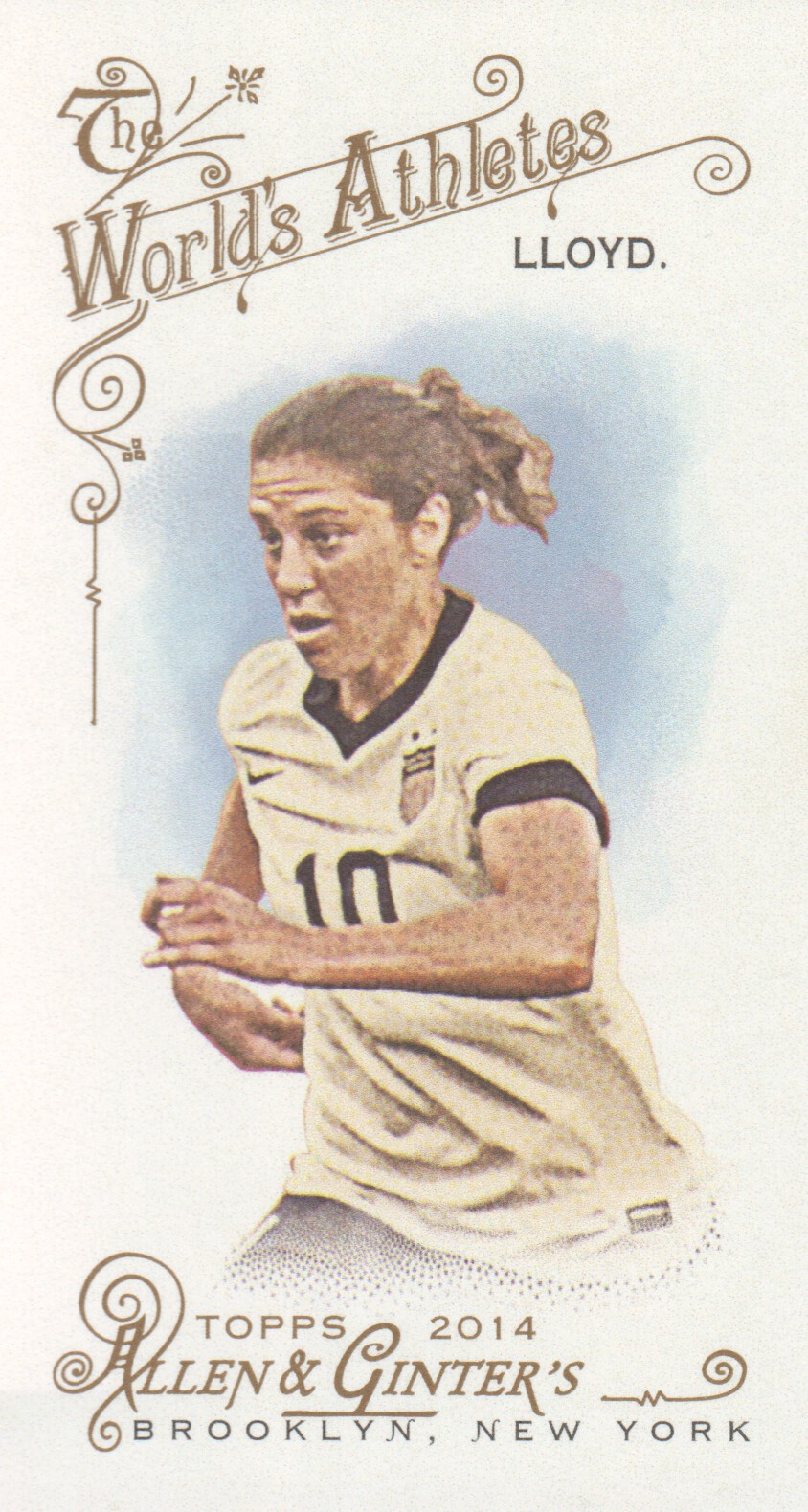 2014 Topps Allen and Ginter Mini #214 Carli Lloyd