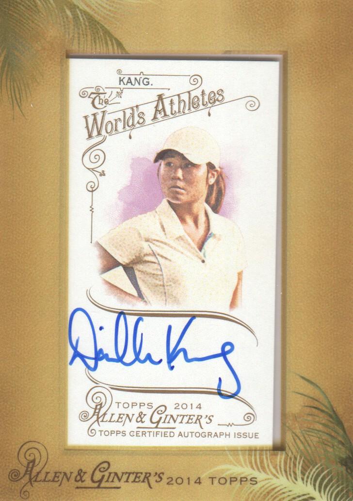 2014 Topps Allen and Ginter Framed Mini Autographs #AGADK Danielle Kang