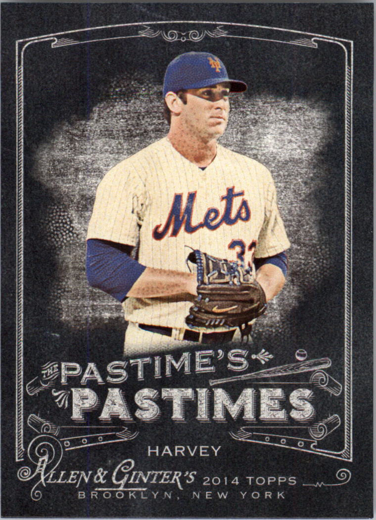 2014 Topps Allen /& Ginter Baseball #245 Matt Harvey New York Mets