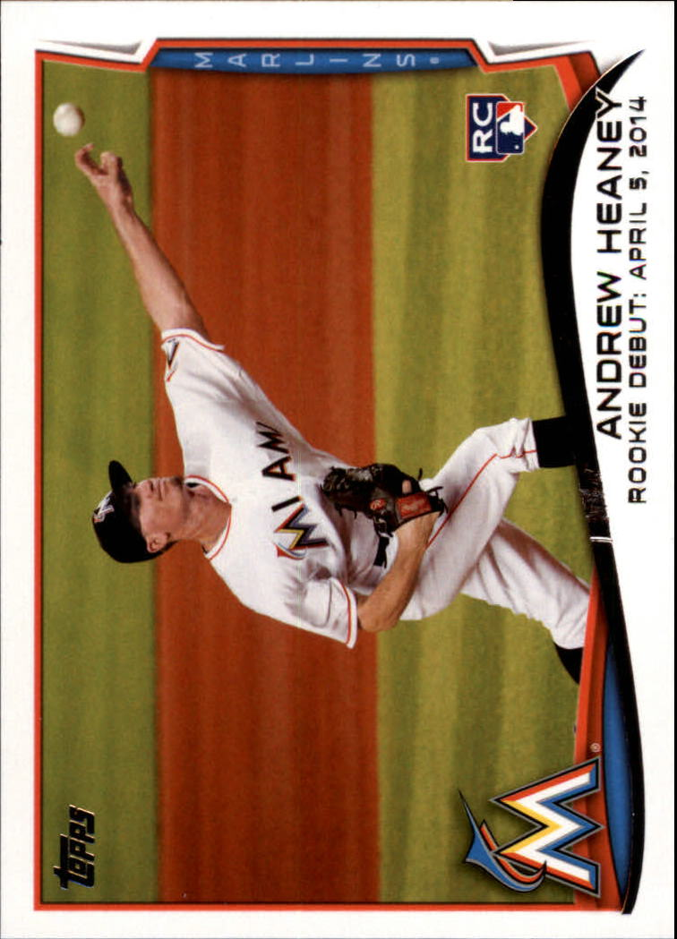 2014 Topps Update #US13 Andrew Heaney RC