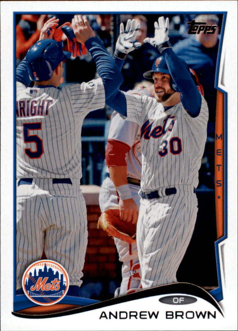 2014 Topps Update #US16 Andrew Brown