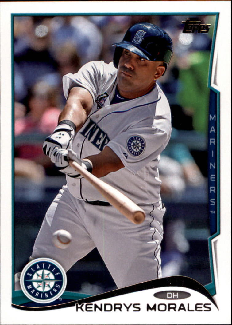 2014 Topps Update #US22A Kendrys Morales