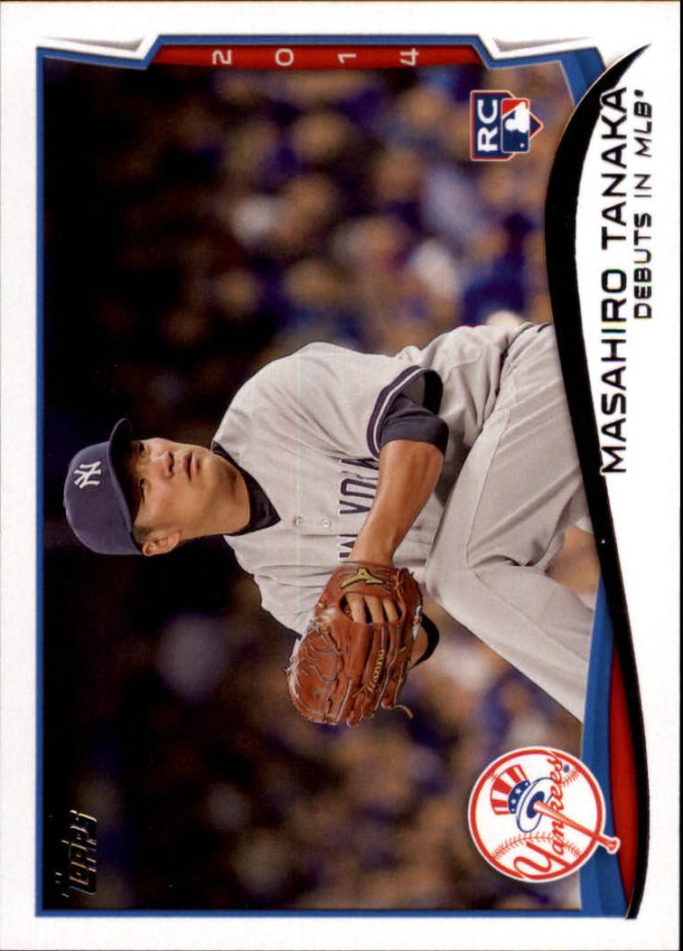 2014 Topps Update #US200 Masahiro Tanaka