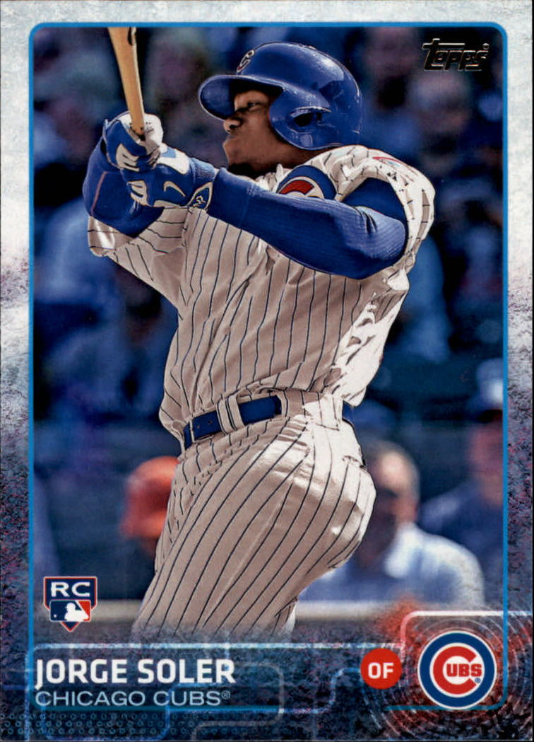 2015 Topps #108A Jorge Soler RC