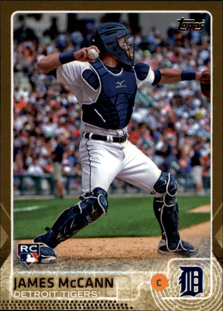 2015 Topps Gold #12 James McCann