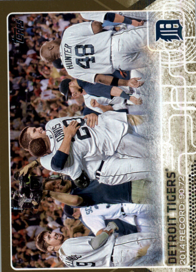 2015 Topps Gold #126 Detroit Tigers