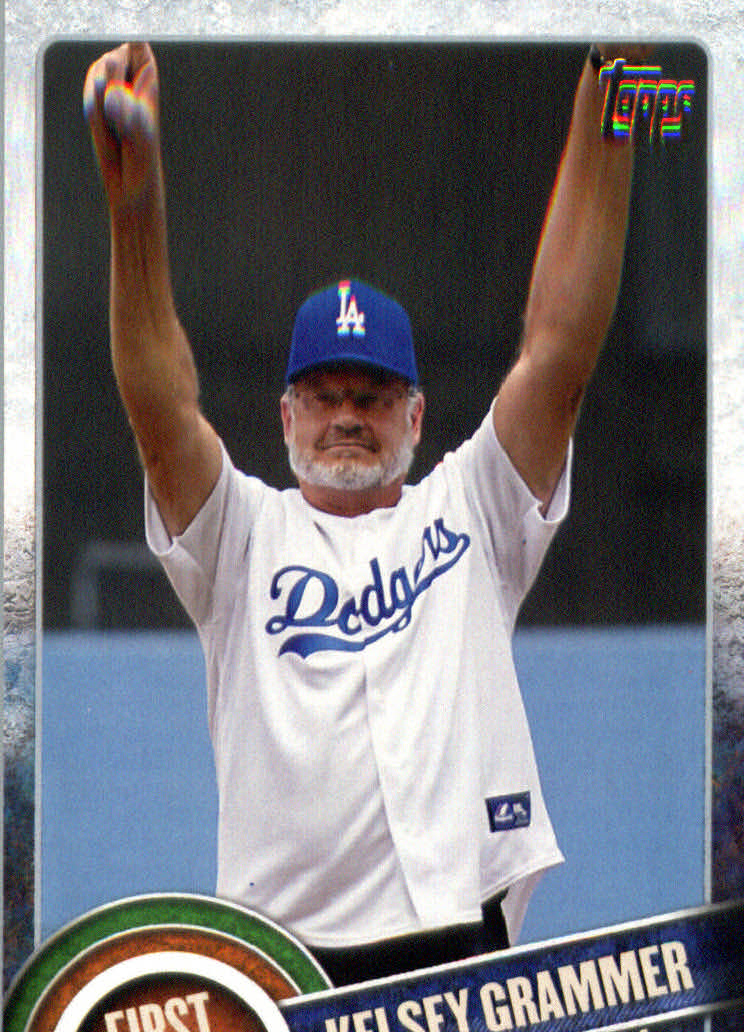 2015 Topps First Pitch #FP16 Kelsey Grammer