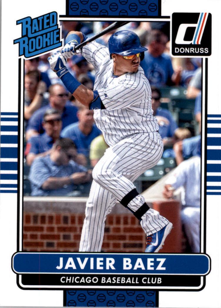 2015 Donruss #35 Javier Baez RC