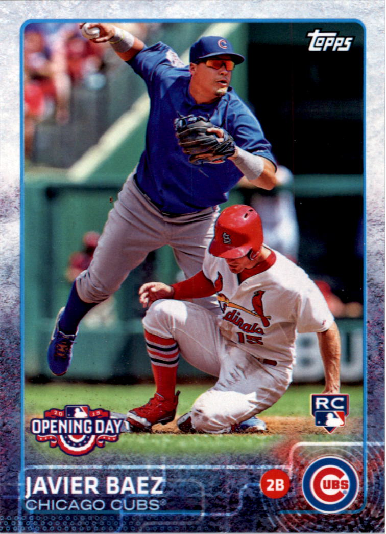 2015 Topps Opening Day #188A Javier Baez RC