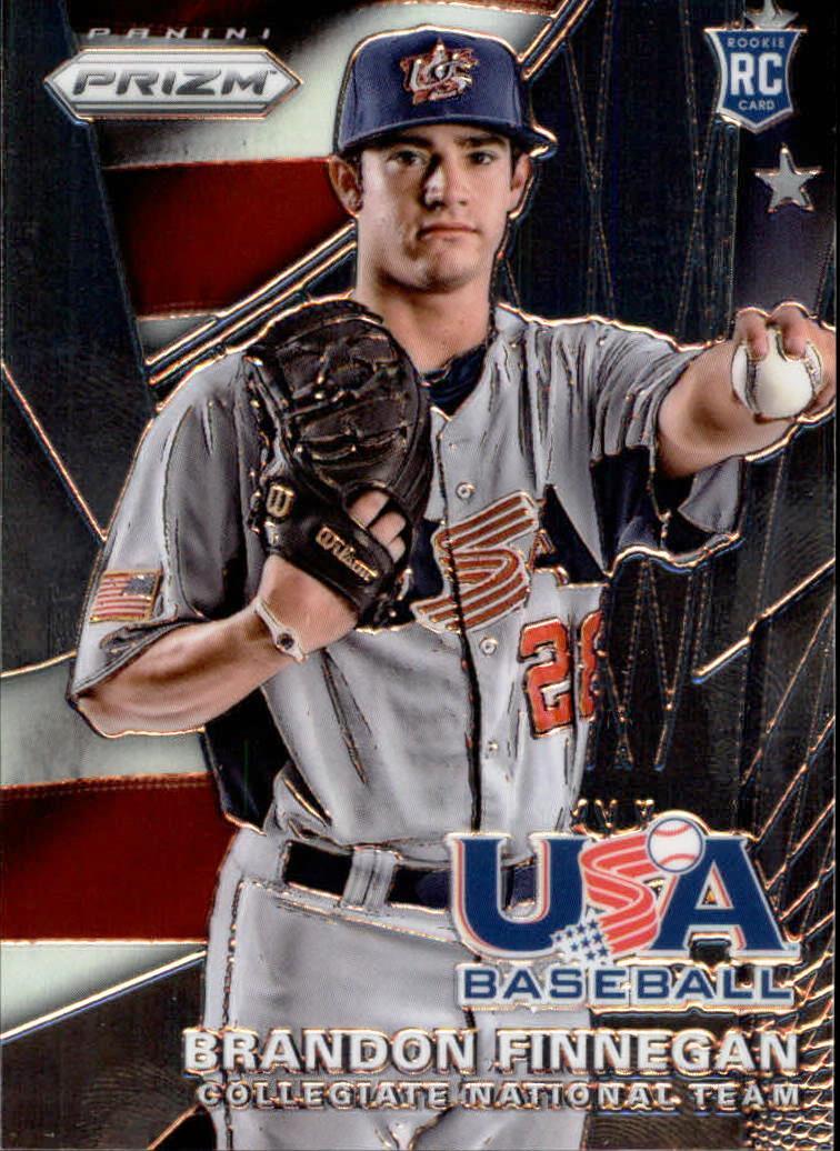 2015 Panini Prizm USA Baseball #1 Brandon Finnegan