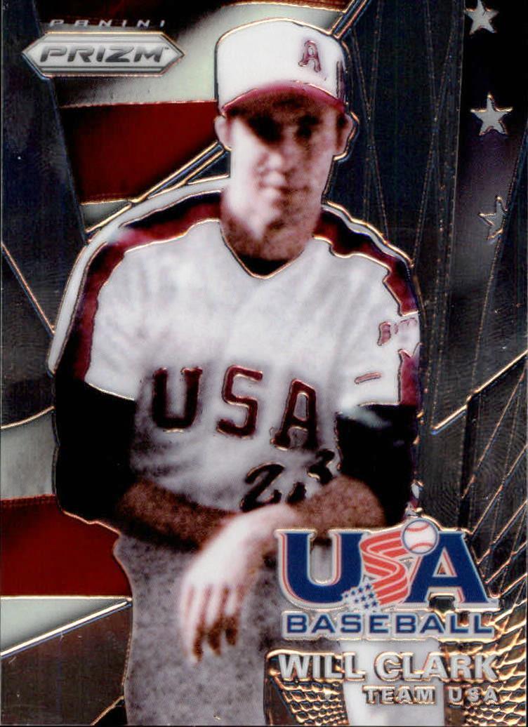 2015 Panini Prizm USA Baseball #9 Will Clark