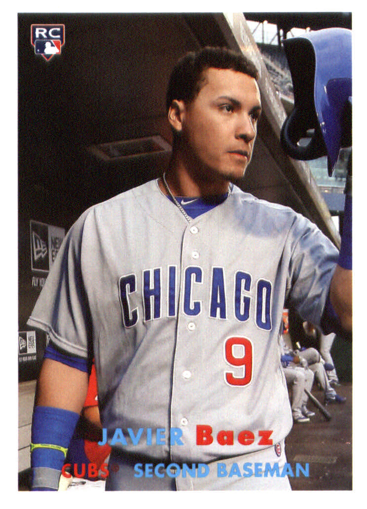 2015 Topps Archives #16 Javier Baez RC