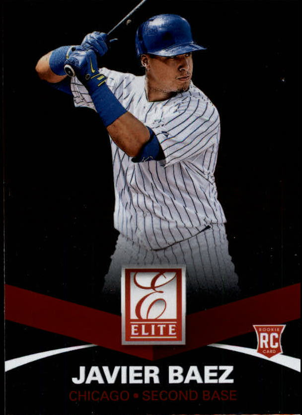 2015 Elite #30 Javier Baez RC