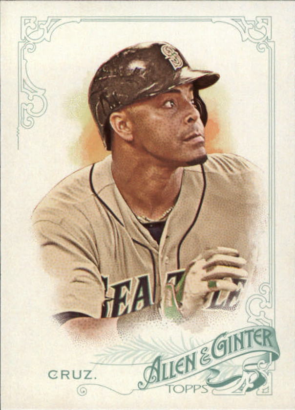 2015 Topps Allen and Ginter #12 Nelson Cruz