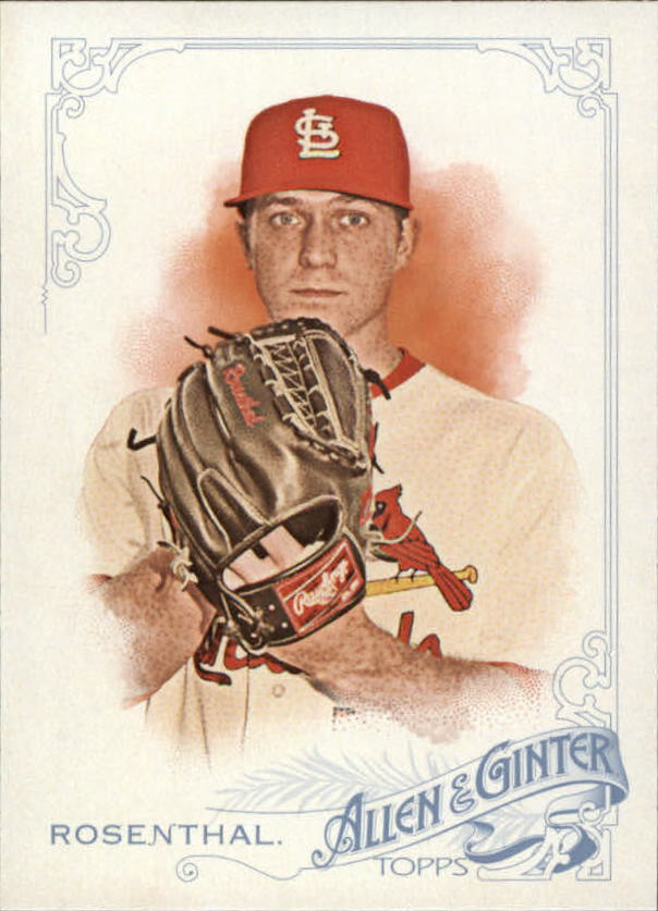 2015 Topps Allen and Ginter #22 Trevor Rosenthal