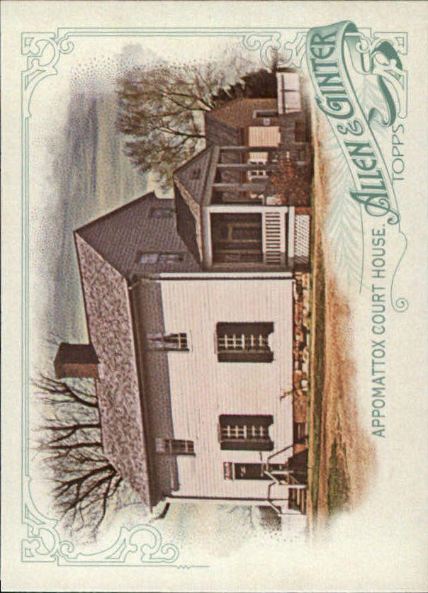 2015 Topps Allen and Ginter #24 Appomattox Court House