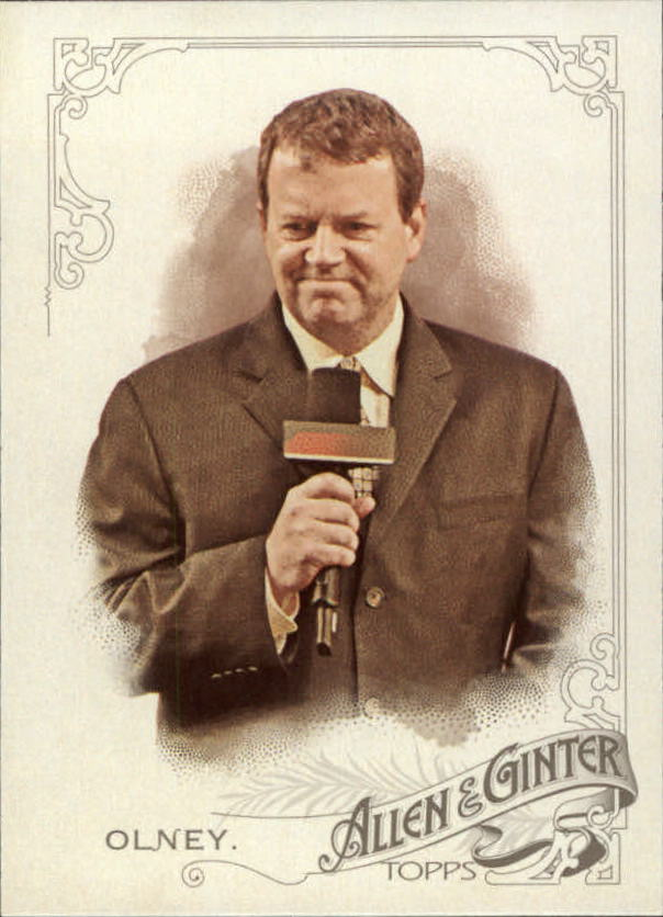 2015 Topps Allen and Ginter #34 Buster Olney