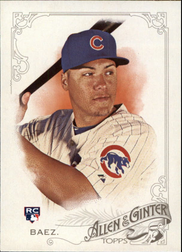 2015 Topps Allen and Ginter #54 Javier Baez RC