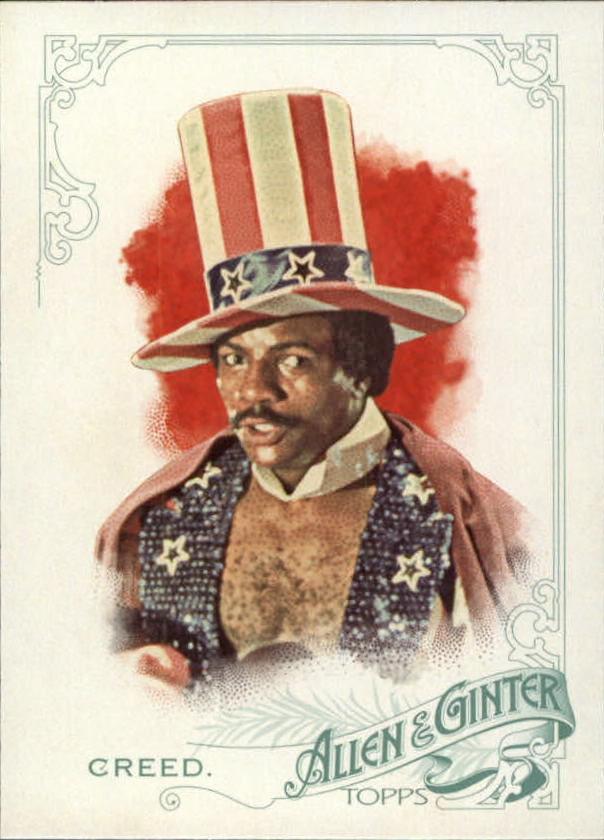2015 Topps Allen and Ginter #56 Apollo Creed