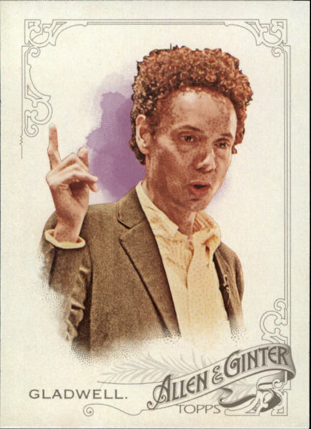 2015 Topps Allen and Ginter #67 Malcolm Gladwell