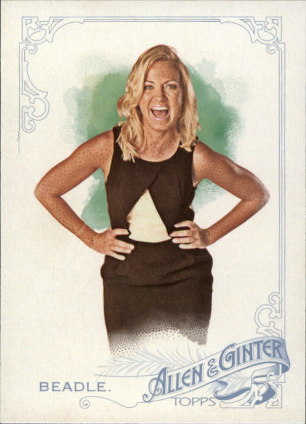 2015 Topps Allen and Ginter #92 Michelle Beadle
