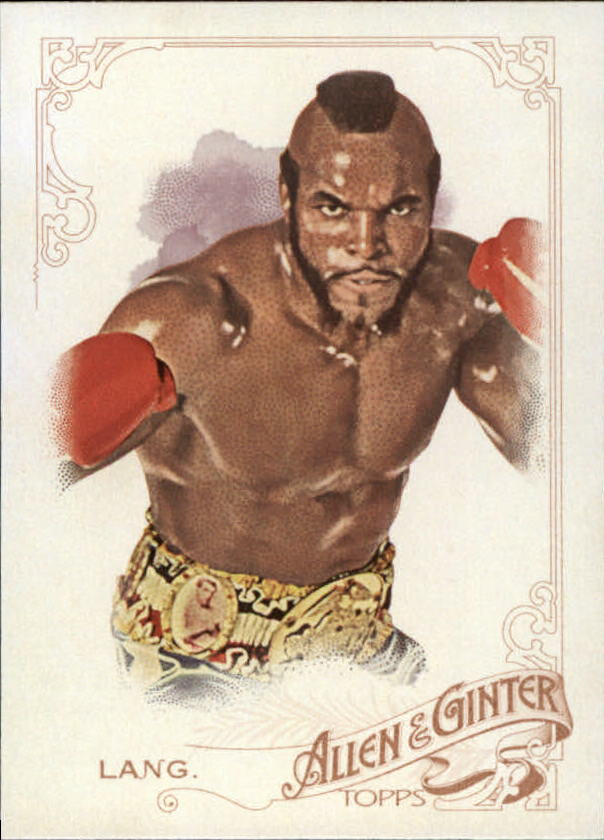 2015 Topps Allen and Ginter #102 James Clubber Lang