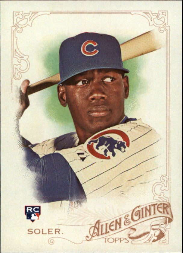 2015 Topps Allen and Ginter #151 Jorge Soler RC
