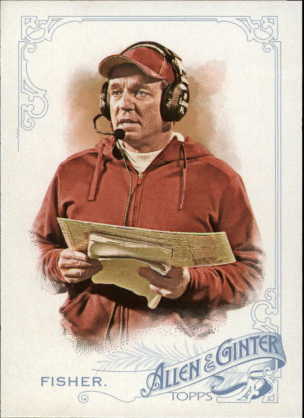 2015 Topps Allen and Ginter #268 Jimbo Fisher