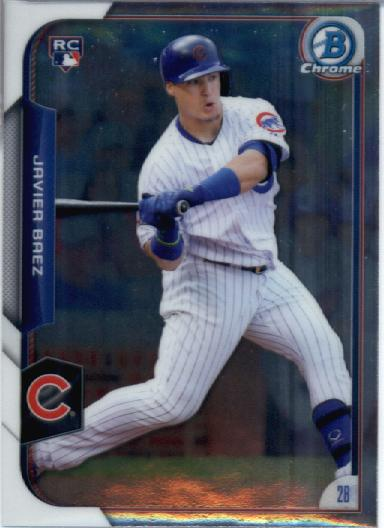 2015 Bowman Chrome #178 Javier Baez RC