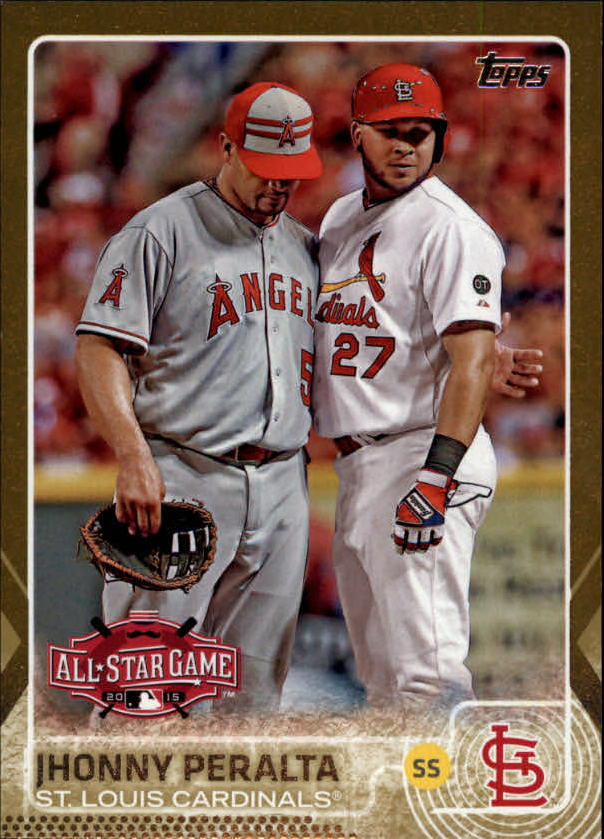 2015 Topps Update Gold #US171 Jhonny Peralta