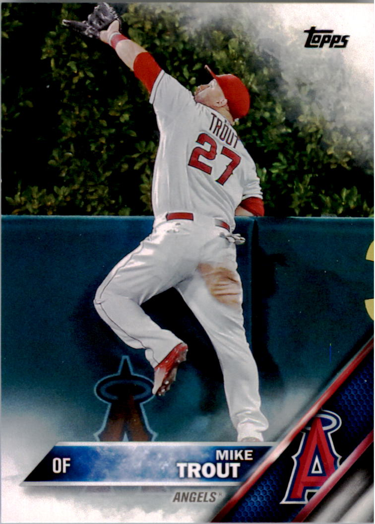 2016 Topps #1A Mike Trout