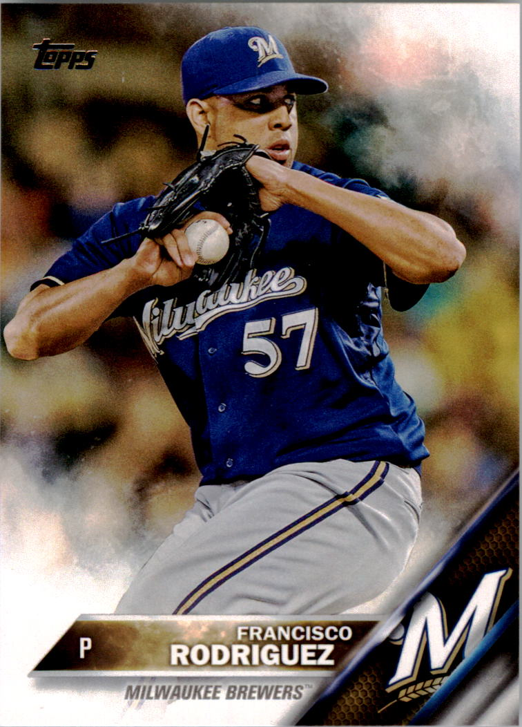 2016 Topps #18 Francisco Rodriguez