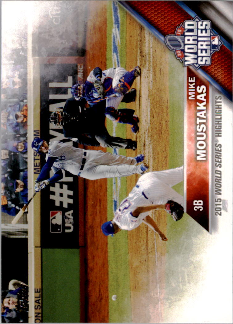 2016 Topps #21 Mike Moustakas WSH