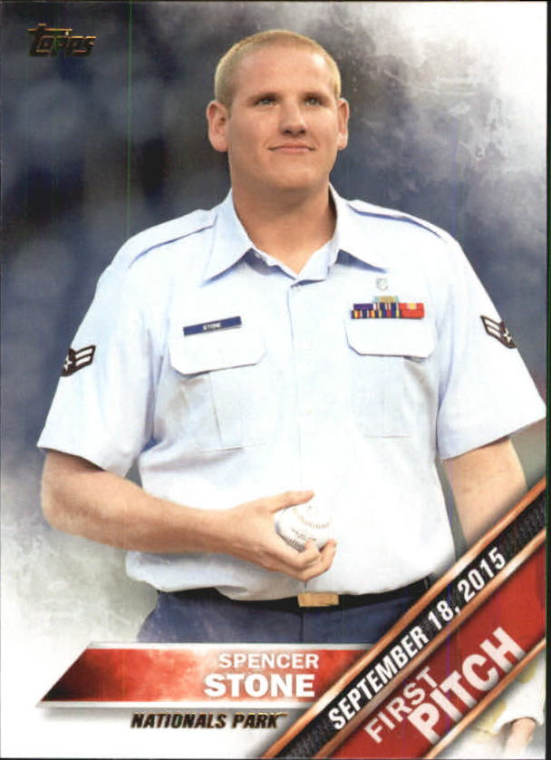 2016 Topps First Pitch #FP9 Spencer Stone S2