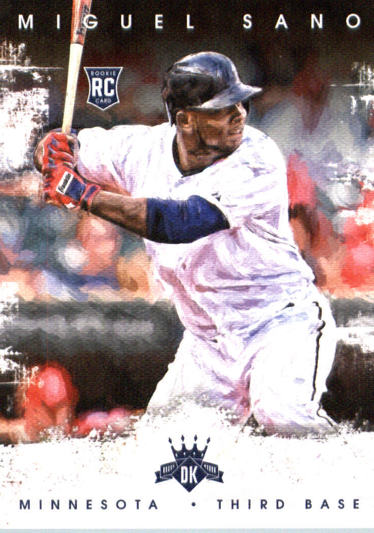 2016 Diamond Kings #143A Miguel Sano RC