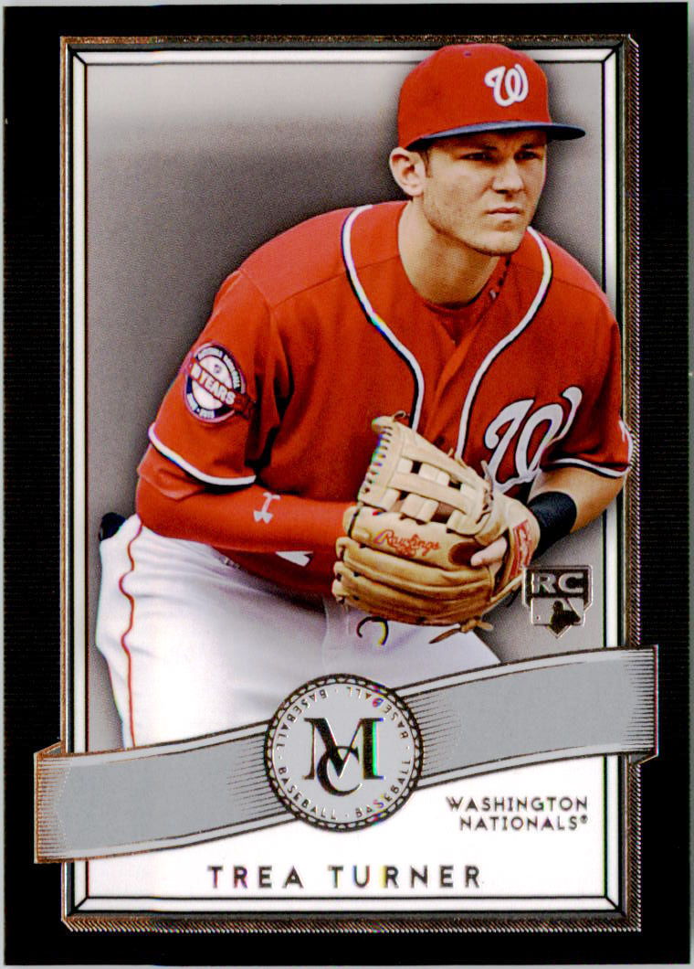 2016 Topps Museum Collection #58 Trea Turner RC