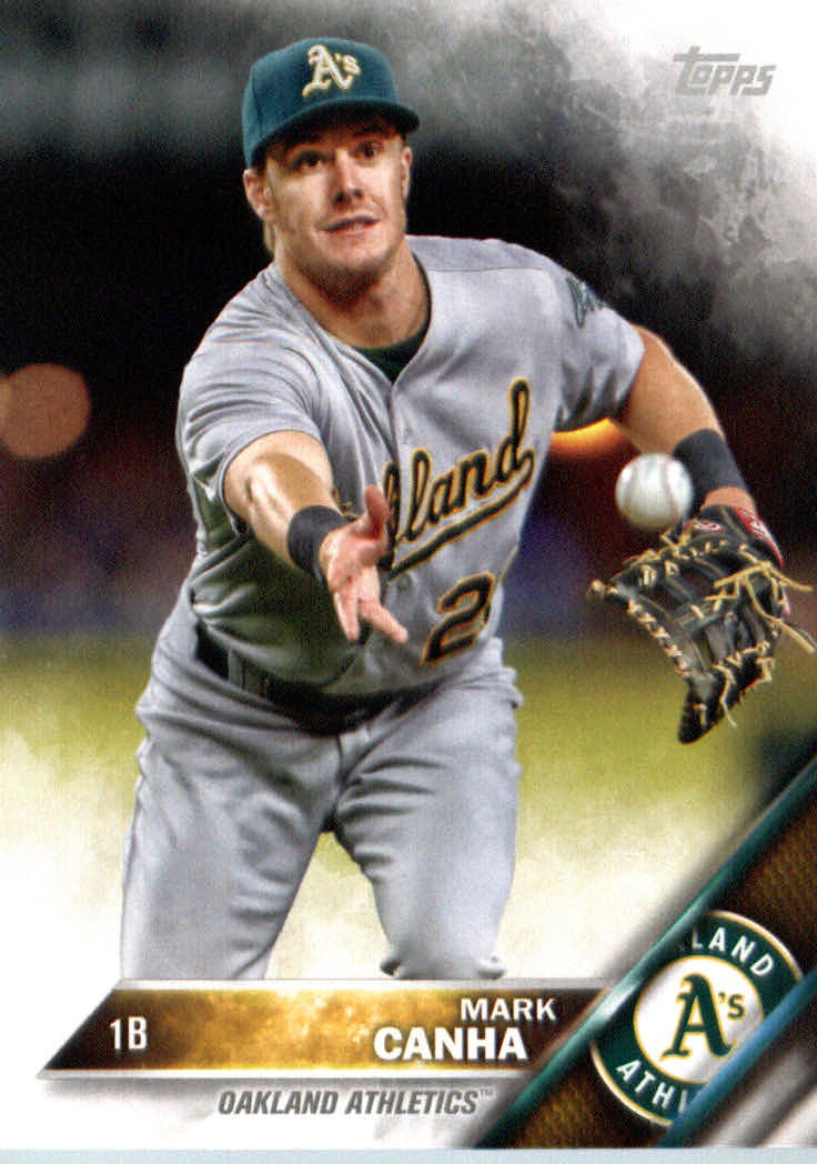 2016 A's Topps #OAK13 Mark Canha