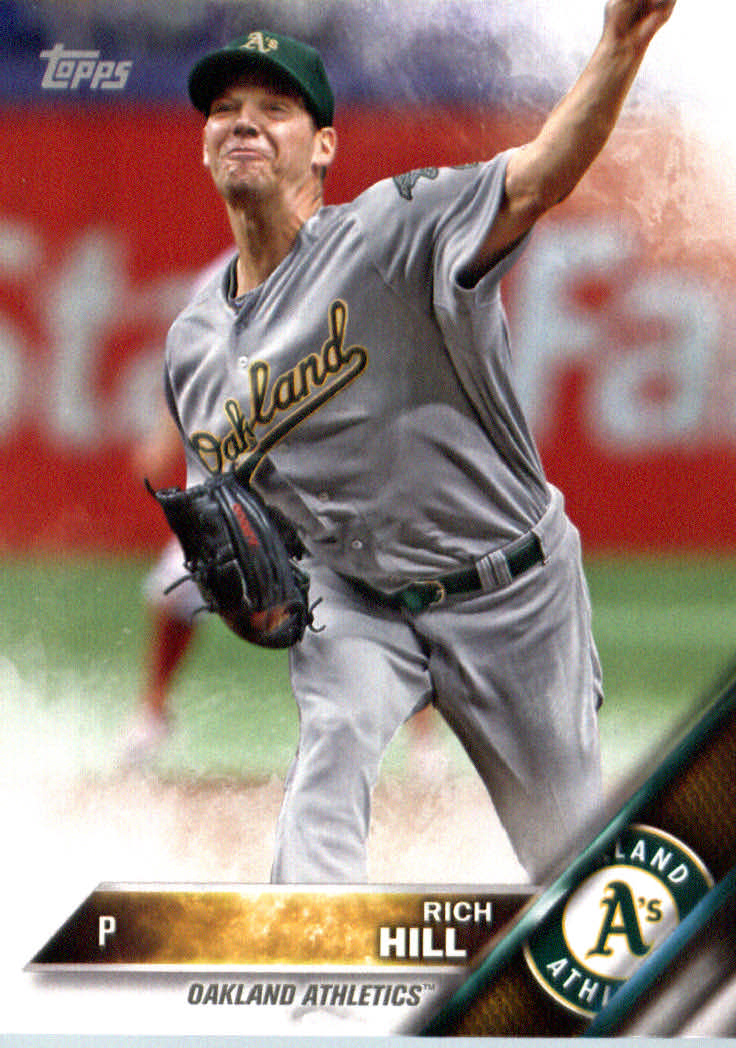 2016 A's Topps #OAK16 Rich Hill