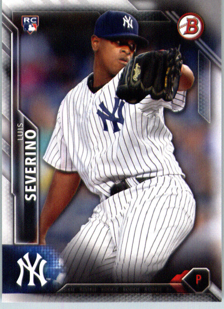 2016 Bowman #135 Luis Severino RC